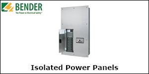 Bender Isolated Power Panels